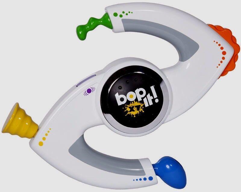 Bop It Juego De Tamaño Completo electrónicos De Mano XT blancoo Hasbro Original 2010 Bopit