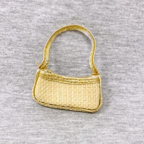 Bratz Class Back To School Cloe Replacement Purse Bag Tan Straw Woven