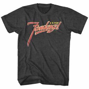 ZZ-Top-Fandango-Album-Cover-Men-039-s-T-Shirt-Logo-Metal-Rock-Band-Music-Tour-Merch