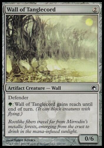 Scars of Mirrodin *Wall* MTG 4x WALL OF TANGLECORD