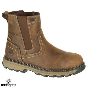 caterpillar chelsea safety boots
