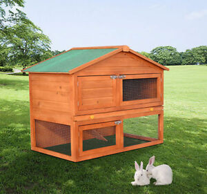 48-4-034-High-Duality-Portable-Wooden-Rabbit-Hutch-House-Chicken-Coop