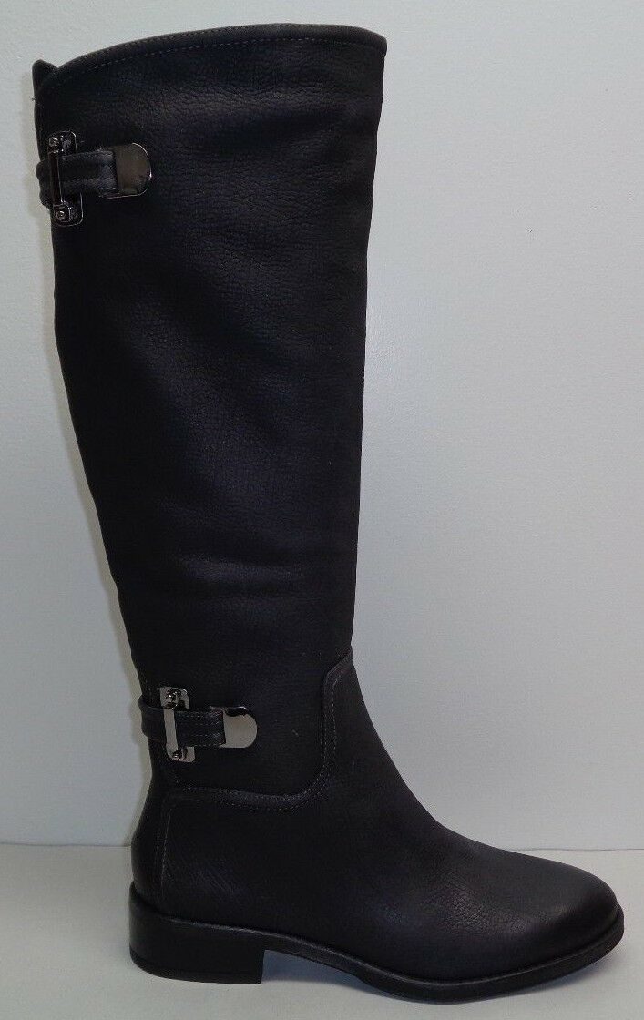 Antonio Melani Size 6 M NEERA Grigio Leather Knee High Boots New Donna Shoes