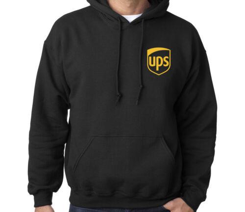 UPS United Parcel Postal Service Men/'s Sweatshirt Hooded Hoodie Winter Sport