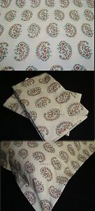 1-Standard-Pillow-Cover-Sham-m-w-new-Ralph-Lauren-ANTIGUA-PAISLEY-Fabric