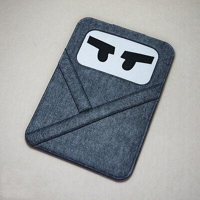 """Woolen Felt Laptop Cover Pouch Envelope 11""""13""""15"""" Notebook Case For Mac Air Pro"""
