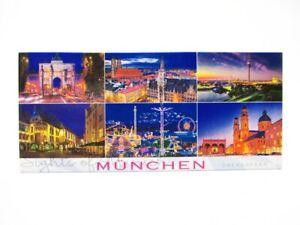Muenchen-6er-Highlights-Foto-Magnet-Germany-12-cm-Reise-Souvenir