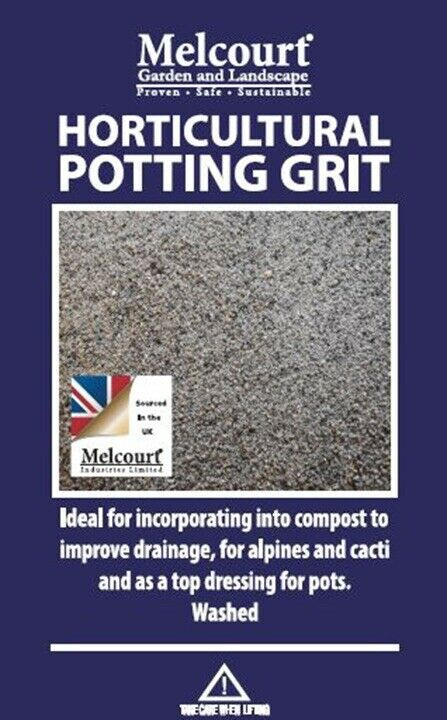 Hortictural Potting Grit Very Good Qualtiy 2kg Bag (washed and Lime free)