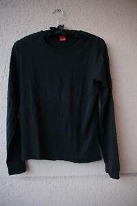 Schwarzes-Langarm-Shirt-von-s-Oliver-Groesse-40