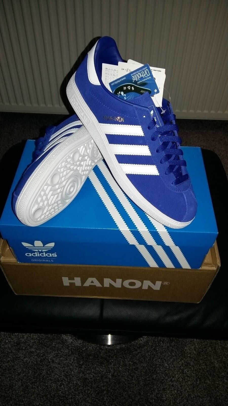 Adidas Munchen... Old School Unisexe Baskets... Taille 7.5 UK 41 1/3 EUR
