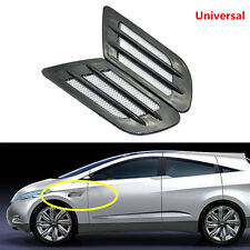 Car Vent Fender Hole Cover Side Air Flow Intake Grille Duct Decoration Sticker