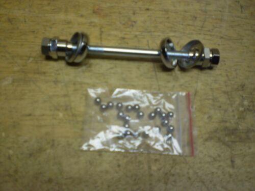 Schwinn Phantom Autocycle Stingray DX Script Bicycle Front Hub Axle Rebuild Kit