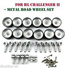 Heng Long 1:16 British Challenger 2 RC Tank Upgraded parts Metal Road Wheel sets