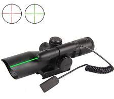 2.5-10X40 Mil-Dot Illuminated Illuminated Reticle Rifle Scope Tactical Laser
