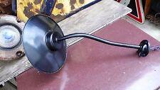 Lampe Applique Industrielle Col de Cygne Cour Usine Ferme Tôle émaillée 1930