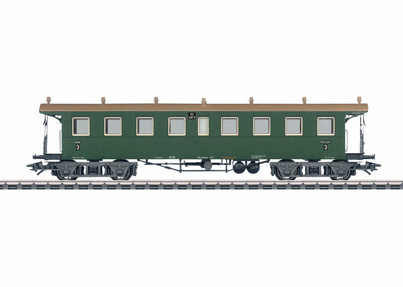 Märklin 42132 tren bala-carro de argentoforma de la CCI w. St. E. 3. clase  neu OVP