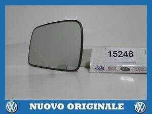 Glass Right Mirror Original VOLKSWAGEN Polo 1.9 Tdi 98