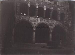 Firenze Florence Bargello Italia Foto Amateur Vintage Ca 1900