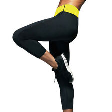 Womens Hot Neoprene Body Shaper Slimming Waist Pants Yoga Vest Sweat Sauna Suit