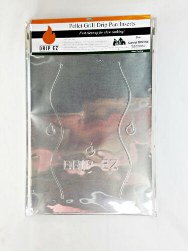 GMG Daniel Boone BBQ Grill Disposable Grease Drip Plate Liner 3 PK GMG-4103