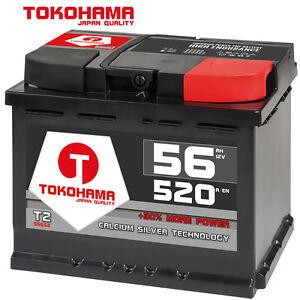 autobatterie 56ah 520a en 12v ersetzt 44ah 50ah 52ah 53ah. Black Bedroom Furniture Sets. Home Design Ideas