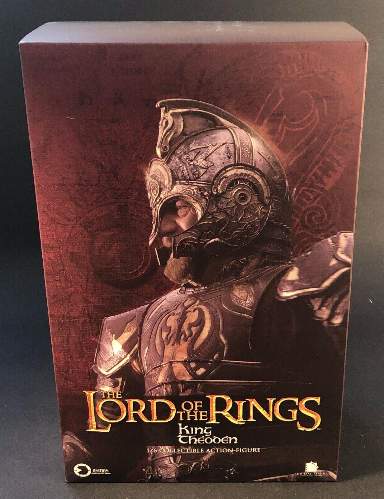 Asmus giocattoli LOTR22 The  Lord of the Rings Series re of Rohan THEODEN 1 6 cifra  migliori prezzi e stili più freschi