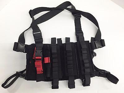 Shotgun Rapid Response Mini-Rig Vest Black -by Hi-Tech Custom Concepts