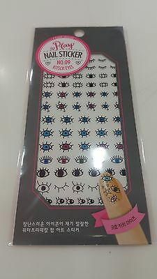 [Etude House] Play Nail Sticker Collection Set + Samples~