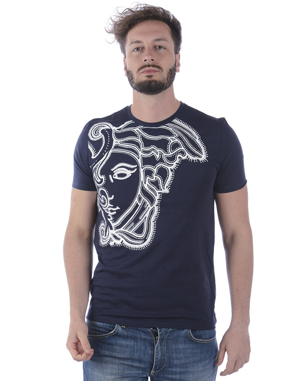 T Shirt VERSACE Collection Sweatshirt Cotton Mens v800683svj00438 v7023