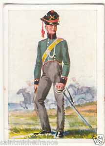 Soldiers-Infantry-Brigade-Prussia-Army-Napoleon-War-Uniform-IMAGE-CARD-30s