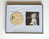 Songs From The Silver Screen JACKIE EVANCHO Signed Autographed FRAMED CD COA