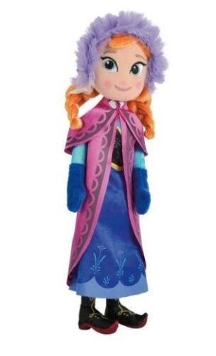 The snow queen anna plush 25 cm frozen