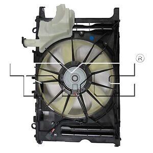 TYC-623160-Radiator-And-Condenser-Fan-Assy