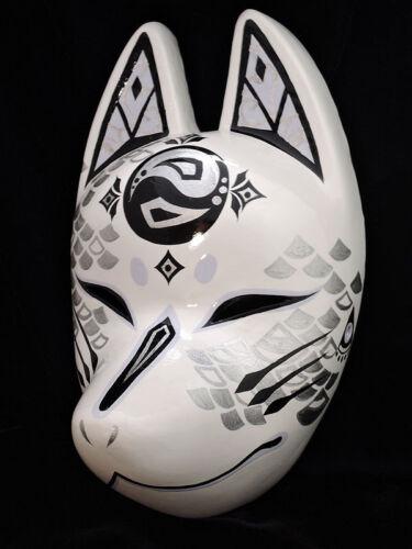 Japanese Fox Mask Motif Ryujin Dragon God Made in Japan New