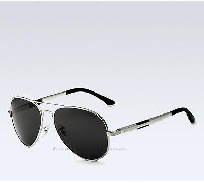 UV400 Veithdia Mens Aviator Polarized Sunglasses Driving Sports Sun Glasses