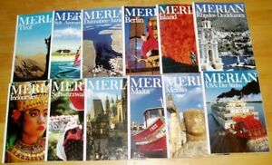 12x-Merian-1989-komplett-42-Jahrgang-Hefte-1-12-Zeitschrift-Reise-Europa-Welt
