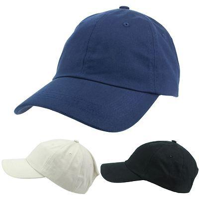 Cap Cappello Da Baseball Regolabile Sole Hawkins Picco Plain Bianco Blu Nero- Gradevole Al Gusto