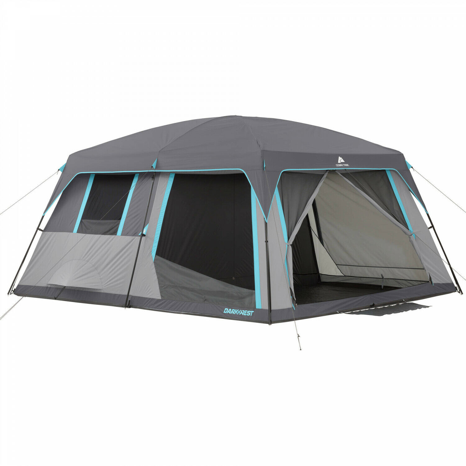 12-Person Half Dark Rest Cabin Tent 14 X 12 Outdoor Camping Hiking Shelter