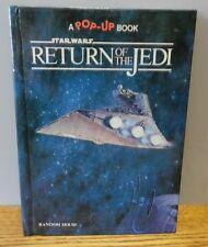 1983 Star wars Pop-Up Books.: Return of the Jedi by Star Wars Staff Hardcover