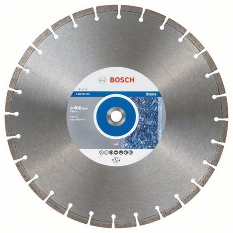 Bosch Diamant Trennscheibe Standard for Stone 400x20,00x3,2x10 mm, 1er VE
