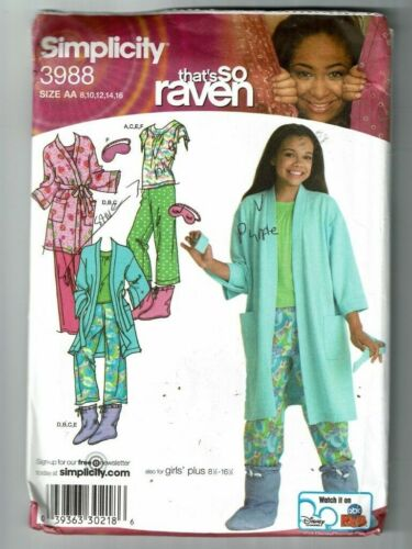 Simplicity  DISNEY/'S That/'s So Raven Patterns U-Pick Sz  7-14