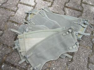 British Army Puttees WWII WW2 Canvas Gaiters Leggings Navy Army Marines Olive