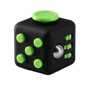 FIDGET DICE 6 Sides Fidget Toys Cube Relieves Stress and Anxiety Cube for Children and Adults