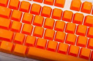 Red Doubleshot Translucent ABS backlit 104 KeyCap for Cherry MX Keyboard