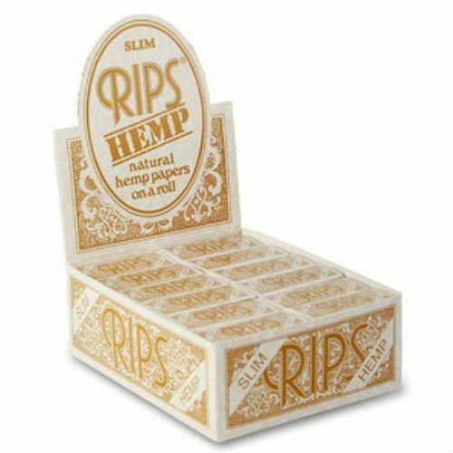 Rips Rolling Paper - Hemp Slim  24 Packs
