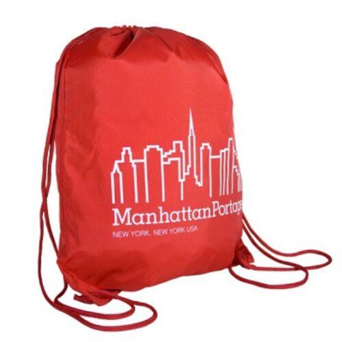 Manhattan Portage Drawstring Lightweight Sports Backpack New York