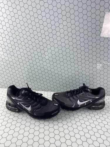 Nike Air Max Torch 4 Black/Gray Lace Up Low Top Ru