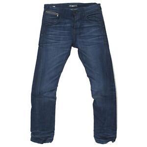 17625-JACK-JONES-Herren-Jeans-Hose-NICK-Tech-Thermo-Cool-Stretch-blue-used-blau