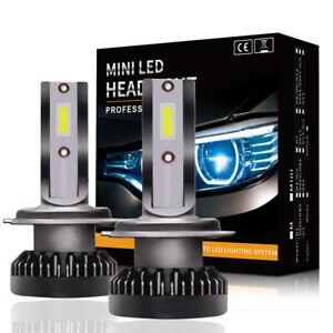 Mini-H7-LED-200W-Phare-de-Voiture-Feux-Ampoule-COB-Puce-8000LM-6000K-LD1618