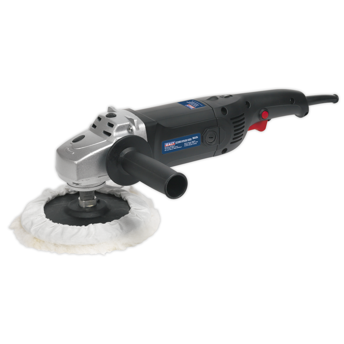 MS900PS Sealey Sander Polisher 170mm 6-Speed 1300W 230V